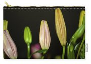 Lilies In A Row Carry-all Pouch