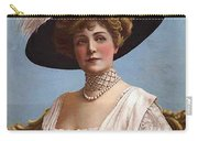Lillian Russell On Cover Carry-all Pouch