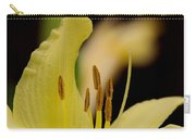 Lily - Flower - Fore And Aft Carry-all Pouch