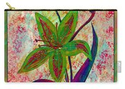 Lily Abstraction Carry-all Pouch