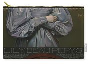 Lily Beau Pepys Carry-all Pouch by Patrick Anthony Pierson