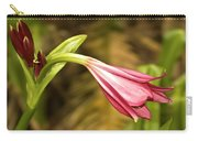 Lily In Pink Carry-all Pouch