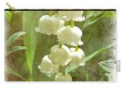 Lily Of The Valley - In White #2 Carry-all Pouch
