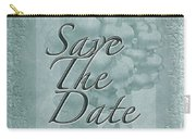 Lily Of The Valley Save The Date Greeting Card Carry-all Pouch
