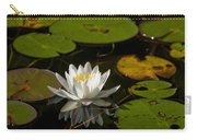Lily On The Pond Carry-all Pouch