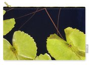 Lily Pads And Lotus Blossom Carry-all Pouch
