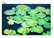 Lily Pads And Lotus Carry-all Pouch