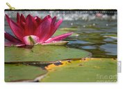 Lily Pads And Petals Carry-all Pouch