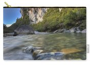 Limestone Cliffs And Fox River, Paparoa Carry-all Pouch