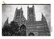 Lincoln Cathedral Facade Carry-all Pouch