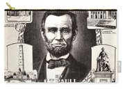 Lincoln Centennial, C1909 Carry-all Pouch