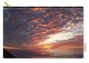 Lincoln City Sunset Carry-all Pouch