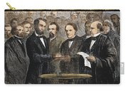 Lincoln Inauguration, 1865 Carry-all Pouch by Granger
