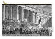 Lincolns Inauguration, 1861 Carry-all Pouch
