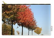 Line Of Autumn Trees Carry-all Pouch