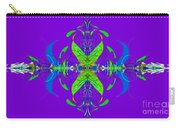 Linear Movement In Purple Carry-all Pouch