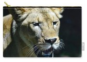 Lion - Endangered Species - Wildlife Carry-all Pouch
