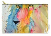 Lion Head 3 Carry-all Pouch
