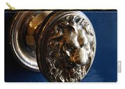 Lion Head Door Knob Carry-all Pouch