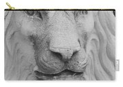 Lion In Stone Carry-all Pouch
