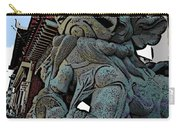 Lion Of Buddha Carry-all Pouch