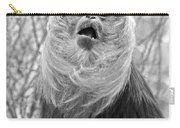 Lion Tailed Macaque Carry-all Pouch