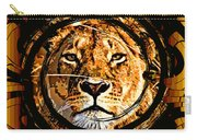 Lioness Face Carry-all Pouch
