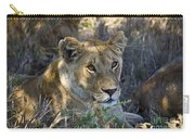 Lioness With Pride In Shade Carry-all Pouch
