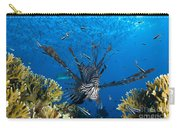 Lionfish Foraging Amongst Corals Carry-all Pouch