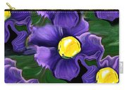Liquid Violets Carry-all Pouch