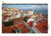 Lisbon Rooftops Carry-all Pouch by Carlos Caetano