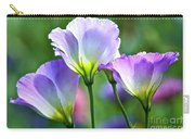 Lisianthus Number 6 Carry-all Pouch