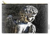 Little Angel Statue Carry-all Pouch