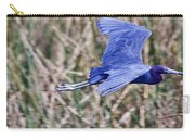 Little Blue Heron In Flight Carry-all Pouch