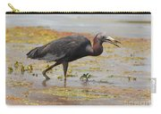Little Blue Heron In Swamp Carry-all Pouch