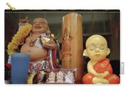 Little Buddhas In Silom In Bangkok In Thailand Carry-all Pouch