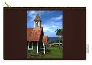 Little Green Church In Hawaii Carry-all Pouch