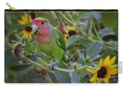 Little Lovebird Carry-all Pouch