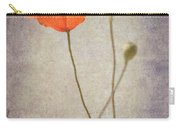Little Poppy Carry-all Pouch