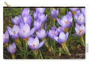 Little Purple Crocuses Carry-all Pouch