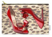 Little Red Bow Peep Toes Carry-all Pouch