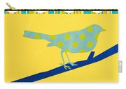 Little Song Bird Carry-all Pouch by Linda Woods