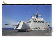 Littoral Combat Ship Uss Freedom Carry-all Pouch by Stocktrek Images