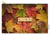 Live-autumn Carry-all Pouch
