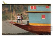 Living On The Mekong Carry-all Pouch