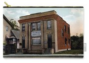 Livingston Manor Ny - National Bank Carry-all Pouch