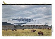 Livingstone Range And Pastureland Carry-all Pouch