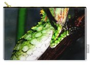 Lizard With Oil Painting Effect Carry-all Pouch