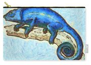 Lizzie Loved Lizards Carry-all Pouch by Nikki Marie Smith