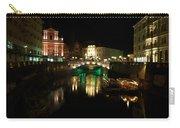 Ljubljana By Night Carry-all Pouch